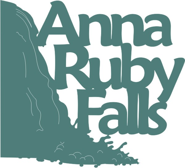 Anna Ruby Falls with Waterfall