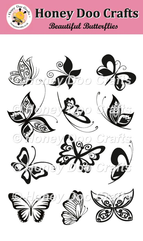 Beautiful Butterflies Stamps