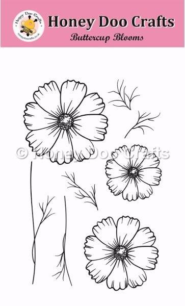 Buttercup Blooms Stamps