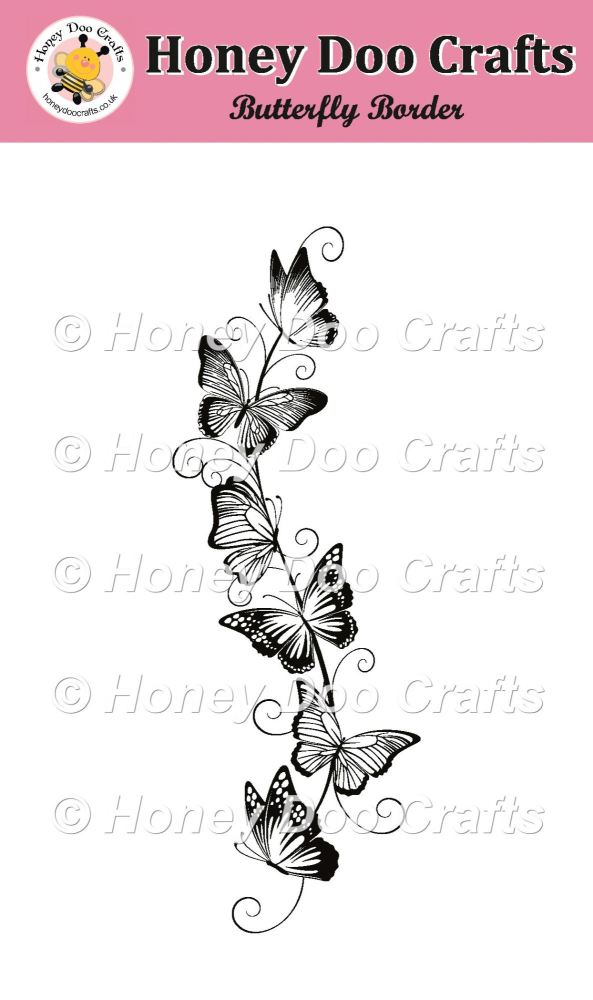 Butterfly Border Stamp