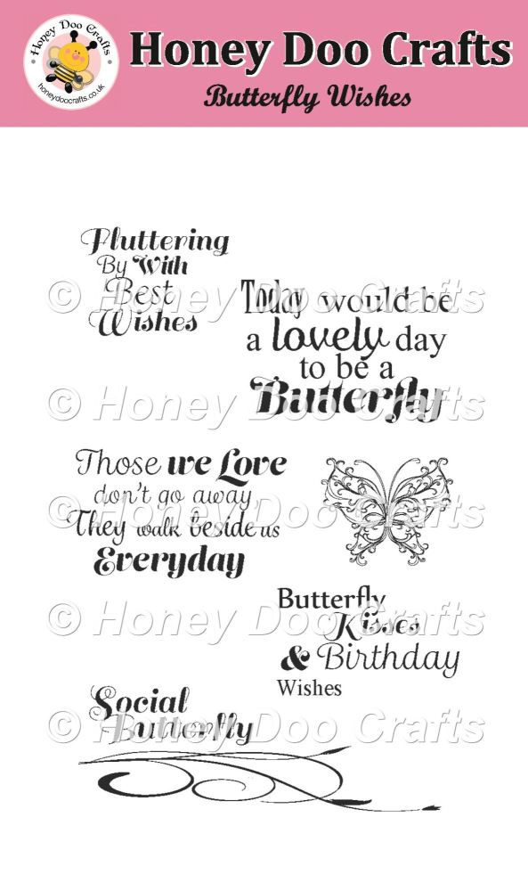Butterfly Wishes Stamp
