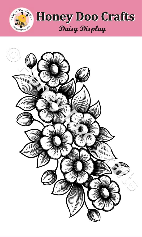 Daisy Display Stamp