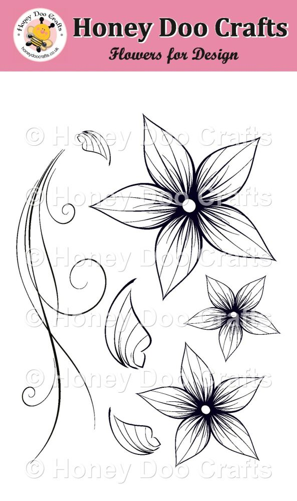 Flowers for Design Stamp