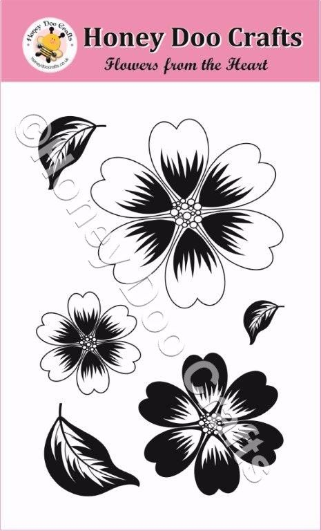 Flowers from the Heart Stamp