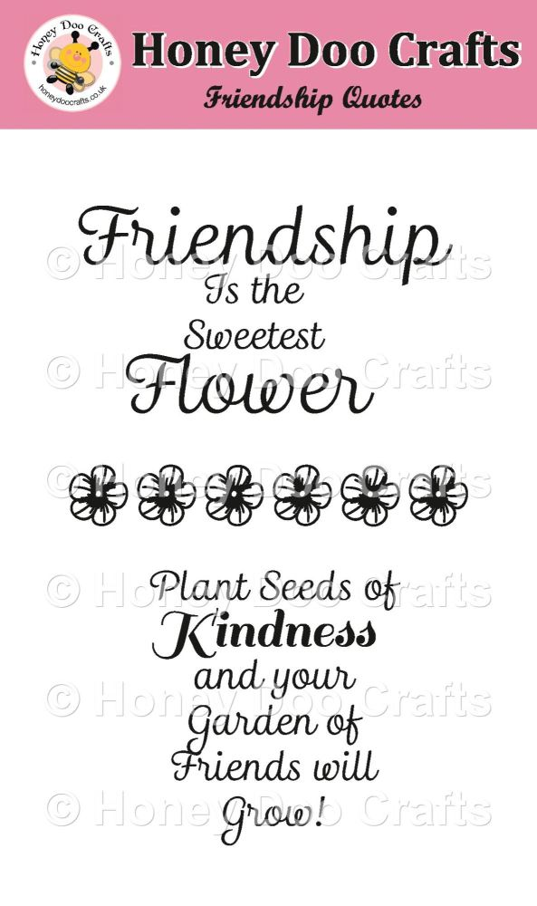Friendship Quotes stamps