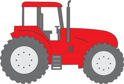 International Harvester Tractor (red)