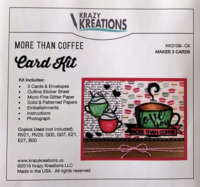 More than Coffee Card Kit
