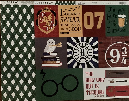 Always - Harry Potter Themed paper