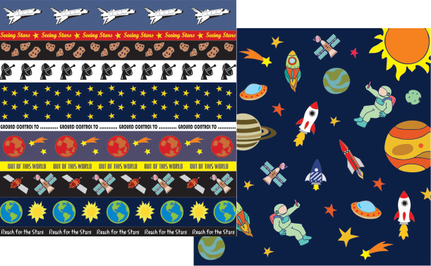 Out of this World - Double Sided Paper