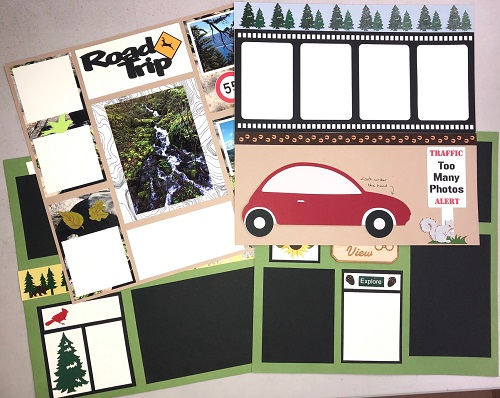 Road Trip 4 page Kit - One of a Kind Virtual Show 8/15