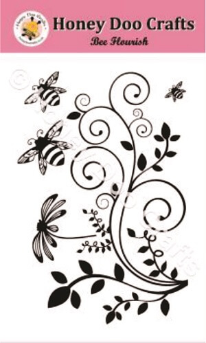 Bee Flourish Stamps