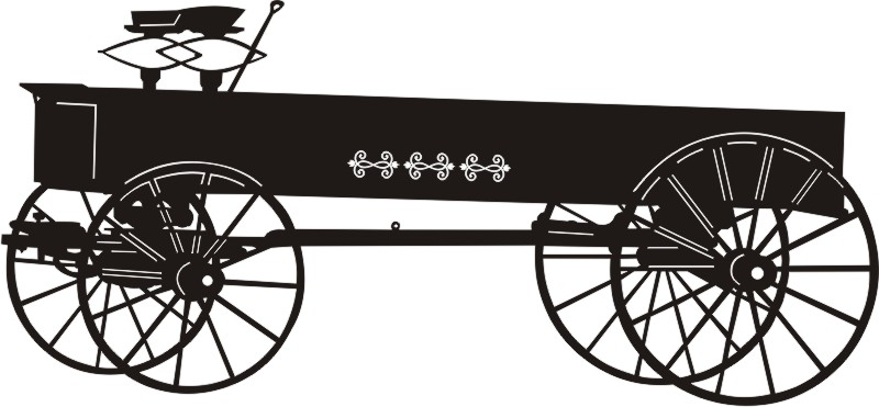 Vintage Farm Wagon