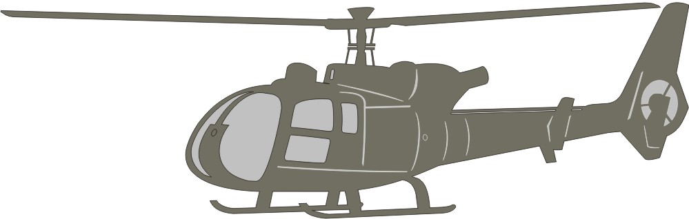 Helicopter - Choice of Colors