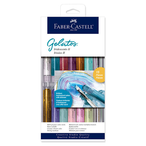 Faber Castell Gelatos Iridescents II 15pc