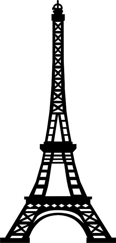 Eiffel Tower (small, set of 2)