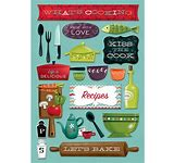 Karen Foster Stickers  What's Cooking
